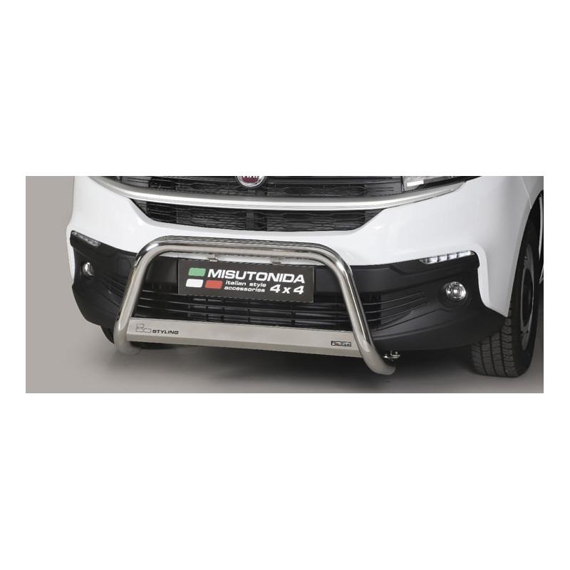 Přední ochranný rám FIAT Talento -63 mm-Misutonida EC/MED/412/IX