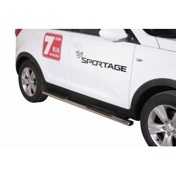 Boční oválný rám s nášlapy KIA Sportage  -Misutonida GPO/275