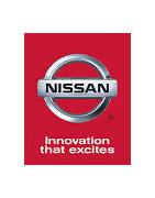 Misutonida predné rámy a nášľapy pre vozidlá Nissan